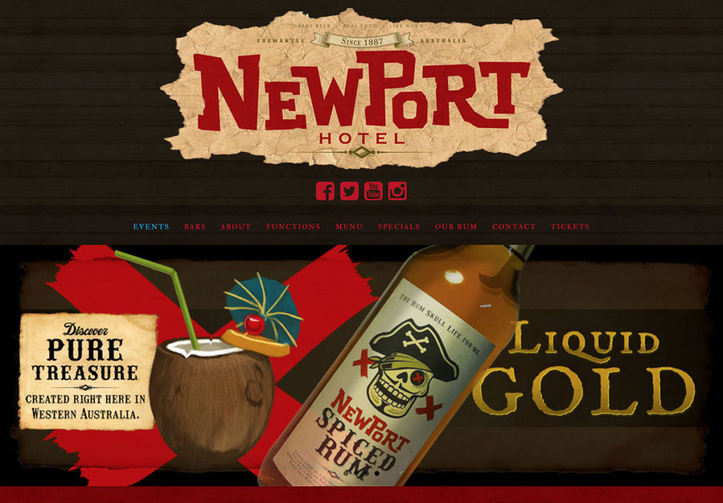 Web Pages NEWPORT
